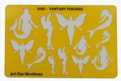 Artistic Design Template - Fantasy Figures