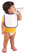 Rabbit Skins Infant Terry Snap Bib (R1003)-Purple,One Size