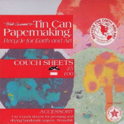Arnold Grummer Tin Can Papermaking Couch Sheets 15cm x 15cm