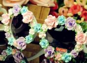2013 Fashion Design Sunglasses Handmade Rose Flower summer sun glasses for women white full Flower sunglasses