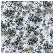 White Floral Greenery 557