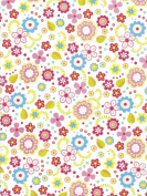 "Decopatch Decoupage Paper Mache ""Girl's Spring Floral Print"" 433 F"