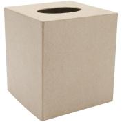 Paper Mache Tissue Box-13cm x 13cm