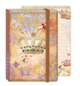 Punch Studio Soft Cover Bungee Journals Royal Crown