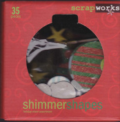 ScrapWorks CB300 Holiday Cheer Collection - 35 Shimmering Christmas Shapes