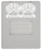Fiskars 101730-1001 AdvantEdge Border Punch Refill Cartridge, Butterfly Lace