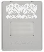 Fiskars 101730-1001 AdvantEdge Border Punch Refill Cartridge, Butterfly Lace