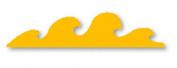 Sizzix Wave Medium Die 38-0130 6.4cm x 1.9cm