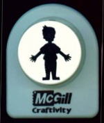 McGill Craftivity Giant Punch Paperdoll Boy 3.2cm F93000 He's a Cutie!