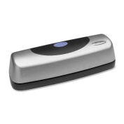 New-Swingline 74515 - 15-Sheet Electric Portable Desktop Punch, Silver/Black - SWI74515