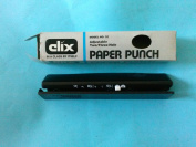 Clix 32 Paper Punch Adjustable 2-3 Hole Made in USA