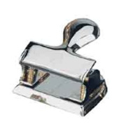 El Casco Two Hole Punch Chrome And 23 Karat Gold Plated M-200CL