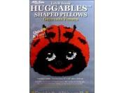 MCG Textiles Huggables Animal Ladybug Pillow Latch Hook Kit