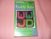 "Caron Krafty Kids 8X8 ""WWJD"" Latch Hook Kit"