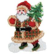 Craftways Woodland Santa Latch Hook Kit