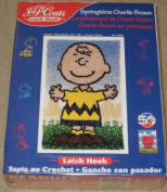 SPRINGTIME CHARLIE BROWN PEANUTS LATCH HOOK RUG KIT