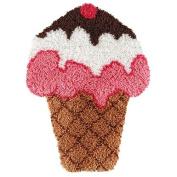 Craftways Ice Cream Cone Latch Hook Kit