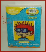 "Nickelodeon Rugrats 10th Anniversary ""Chuckie"" Latch Hook Kit 60cm x 60cm Finished Size"