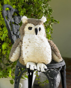 MCG Textiles Huggables Animal Owl Latch Hook Kit
