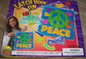 Latch Hook Fun Peace Sign