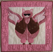 Nestlings by Robin Hog Heaven Harley & Pig Lovers Applique Quilt Pattern