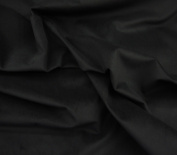 Black Upholstery Micro Plush Velvet Upholstery and Drapery Fabric