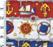 Windjammer Fabrics by Foust Textiles - 100% Cotton, 110cm Wide