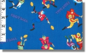 World Of Sports Fabrics By Print Concept - 100% Cotton, 110cm Wide