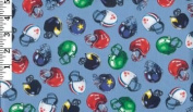 Football By Timeless Treasures- 100% Cotton, 110cm Wide By the Yard