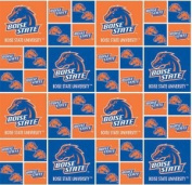Boise State University By Sykel - 100% Cotton 110cm Wide By the Yard