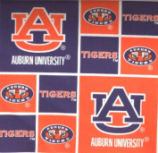 University of Auburn By Sykel- 100% Cotton 110cm Wide By the Yard