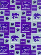 Kansas State University By Sykel - 100% Cotton 110cm Wide By the Yard