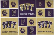 University of Pittsburgh By Sykel - 100% Cotton 110cm Wide By the Yard