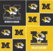 University of Missouri By Sykel - 100% Cotton 110cm Wide By the Yard