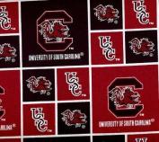 University of South Carolina-100% Cotton 110cm Wide By the Yard