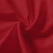 Plain Red 100% Cotton Fabric 150cm wide per metre