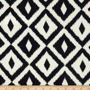 Terrasol Indoor/Outdoor Aztec Black Fabric