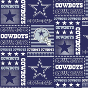 DALLAS COWBOYS COTTON FABRIC-NFL DALLAS COWBOYS 100% FABRIC-SOLD BY THE YARD