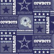 DALLAS COWBOYS COTTON FABRIC-NFL DALLAS COWBOYS 100% FABRIC-SOLD BY THE YARD