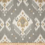 Magnolia Home Fashions Dakota Ikat Grey Fabric