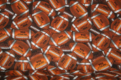 100% Cotton Ball Football Print Fabric Print Fabric / 110cm Wide / Sold By the Yard