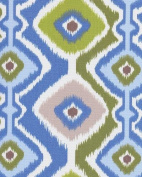 140cm Ikat Mesa Sky Indoor/Outdoor Fabric