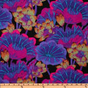 Kaffe Fassett Lake Blossoms Black Fabric