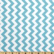 Riley Blake Chevron Small Aqua Fabric