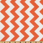 Riley Blake Chevron Medium Orange Fabric
