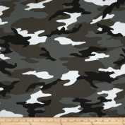 Camo Army Camo Grey Fabric