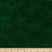 Laura Burch Swirls Green Fabric