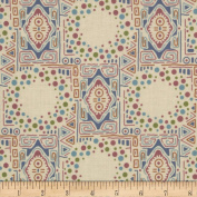 Downton Abbey Lady Sybil Mosiac Tan Fabric