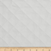 Double Sided Quilted Broadcloth Ash Grey Fabric