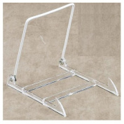 Tri-Par Intl 27-1213 Easel, For Book, Pictures & Plates, Adjustable, Acrylic